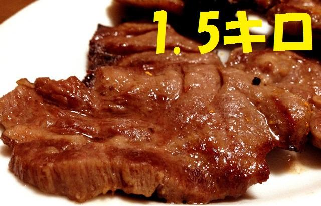 仙台厚切り牛たん1.5キロ